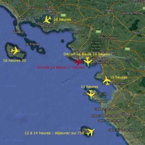 Journee decouverte, école de pilotage, Loire Atlantique, baptêmes de l'air