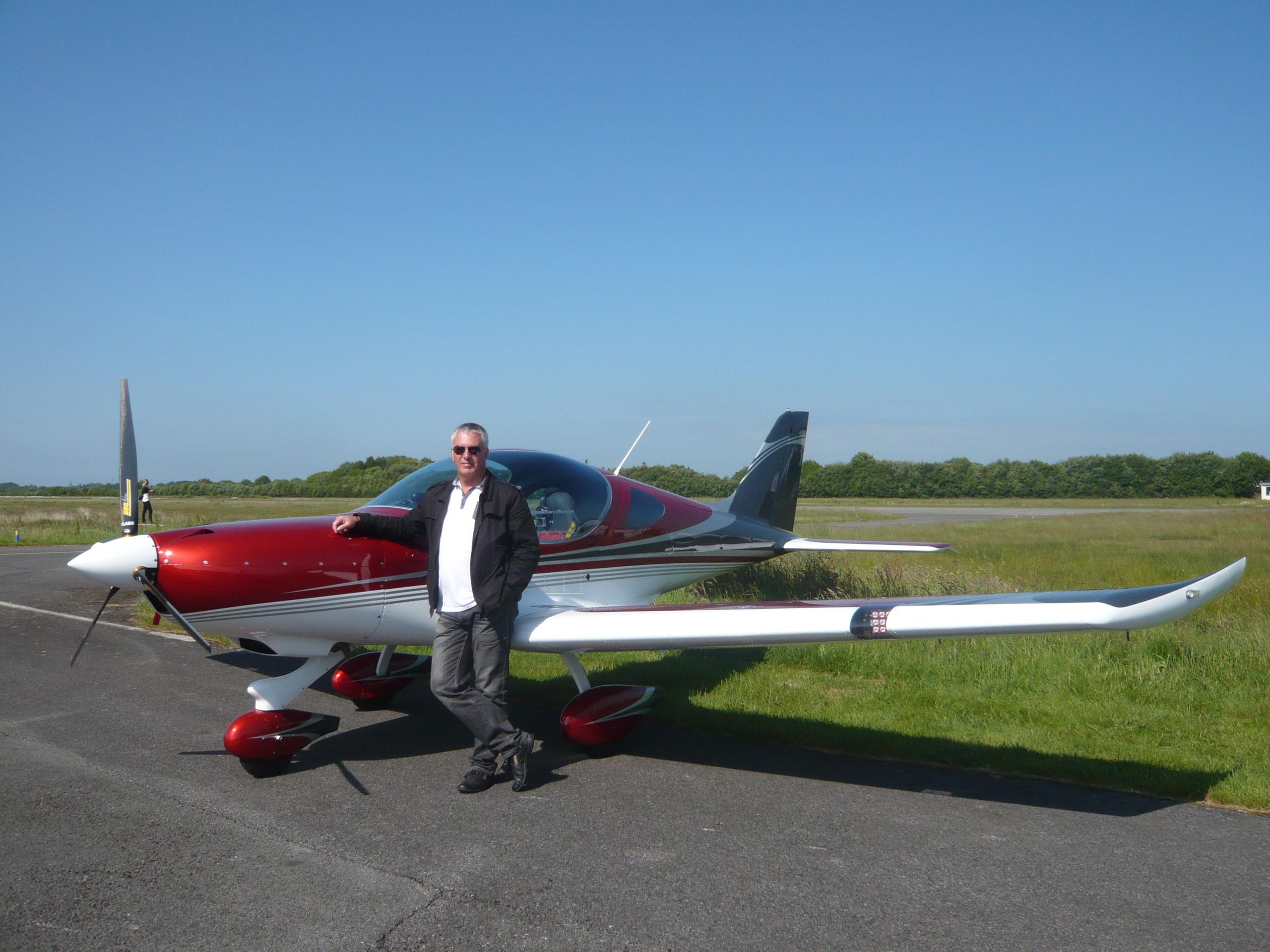 Aérodrome de la Baule, Nos Pilotes, Cote d'amour, Avion