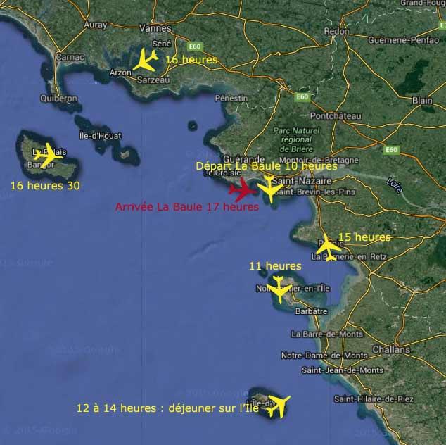 Journee decouverte, école de pilotage, Loire Atlantique